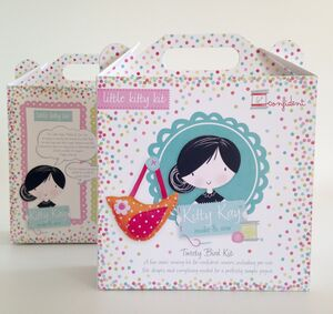 Activity Sewing Craft Kit Gift Spotty Bird