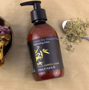 Neem Lavender, Rose, And Geranium Replenishing Lotion