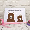 Personalise the card from either one or two children
