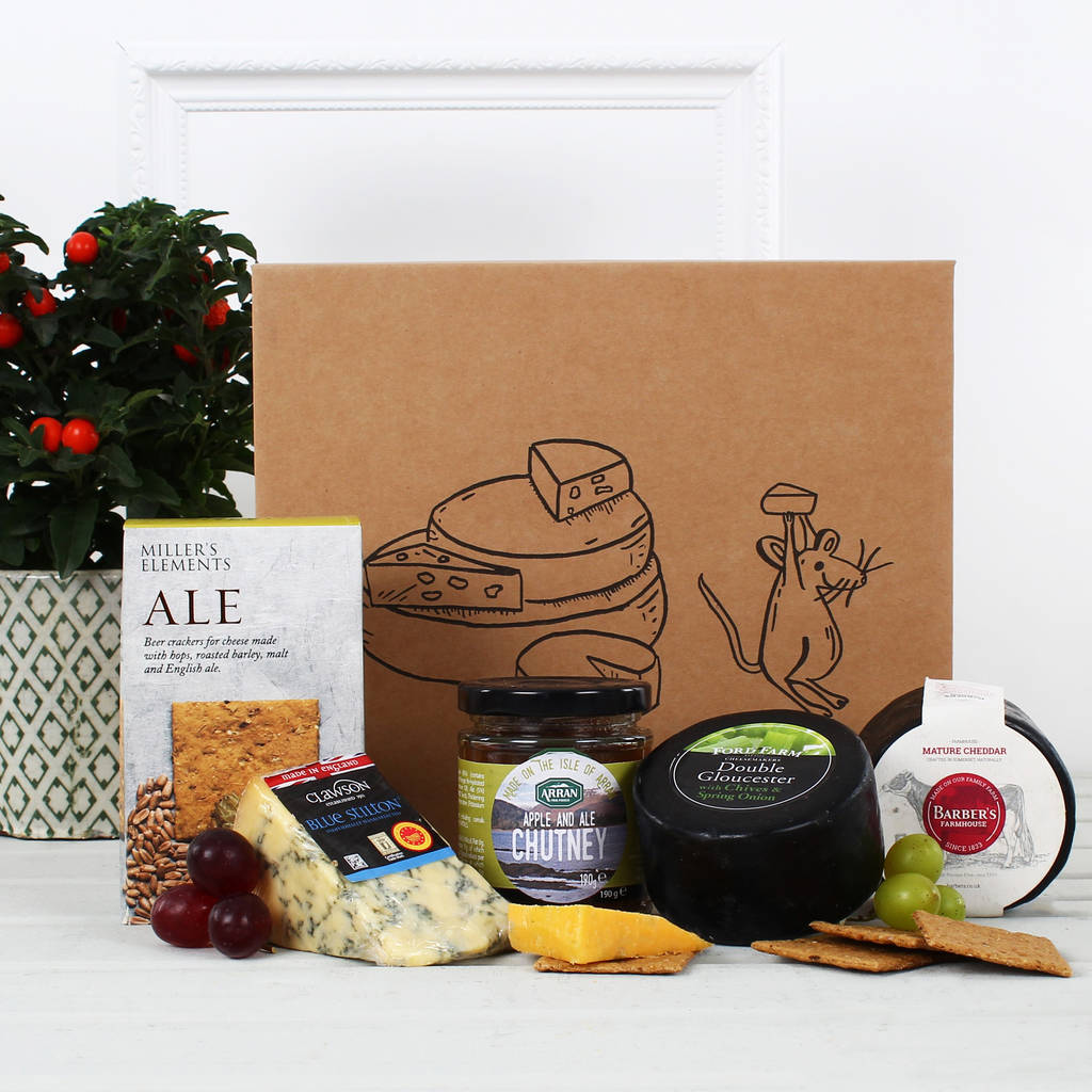 The Cheese Box Gift Hamper