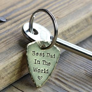 Personalised Plectrum Keyring - keyrings