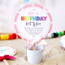 Girls Personalised Birthday Card Lollipop