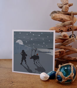 Beach Inspired Christmas Cards - cards