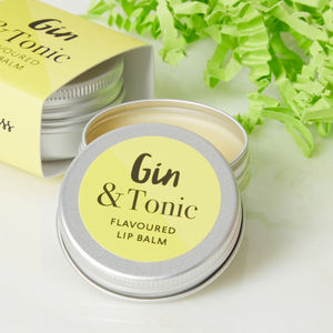 Gin And Tonic Flavoured Lip Balm