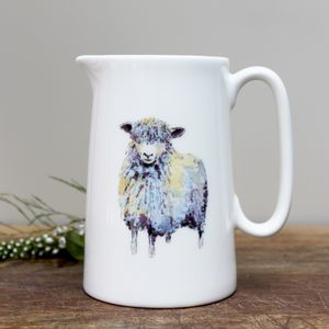 Sheep One Pint Fine Bone China Jug