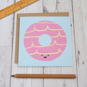 Party Ring Biscuit Greeting Card