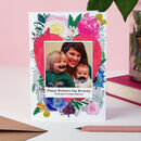 Personalised Mother's Day Photo Card
