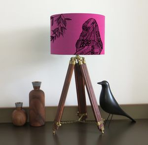Gorilla Lampshade Nine Colour Options - lighting