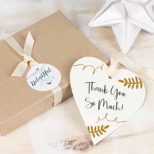 Personalised Wedding Thank You Gift - wedding favours