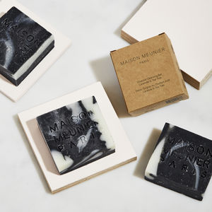 All Natural Vegan Charcoal Cleansing Bar - organic beauty