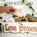 Personalised Wedding Or Engagement Herb Gift