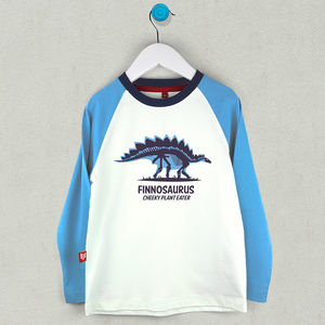 Personalised Stegosaurus T Shirt - gifts for children