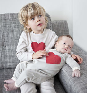 Valentines Sibling Matching Gift Set - i love the kids