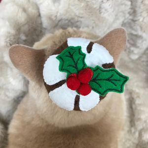 Catnip Toys, Christmas Pudding Cat Toy - cat toys