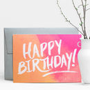 Happy Birthday Painter Greeting Card
