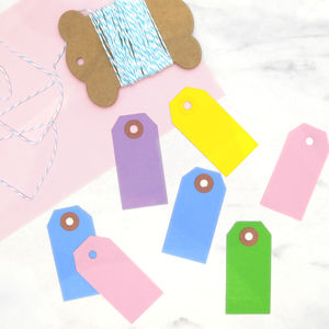 Gift Wrap Tag And Twine Kit - gift wrap sets