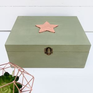 Personalised Memory Or Keepsake Gift Box