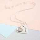 Personalised Heart Fingerprint Necklace