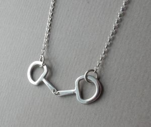Horse Bit Silver Necklace - necklaces & pendants