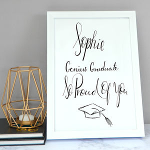 Graduation Print - dates & special occasions