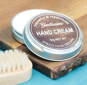 Gentlemens Moisturising Hand Cream In A Handy Tin - hand care