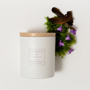 'Seven Woods' Vetiver Moss Luxury Soy Candle