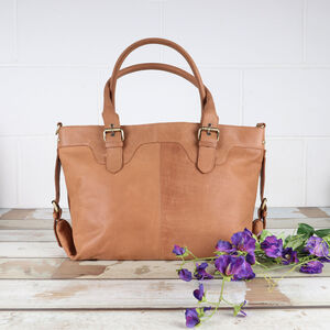 Lichfield Leather Buckle Tote Bag