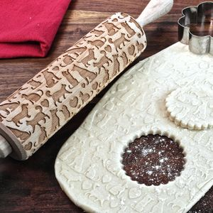 Pet Love Embossing Rolling Pin - kitchen