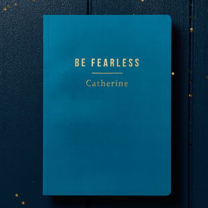 Personalised 'Be Yourself' A5 Notebook