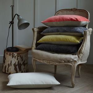 Velvet Cushions - cosy home updates