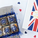 British Luxury Brownie Box