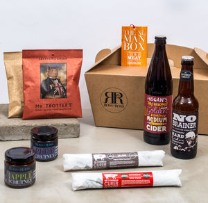Cider 'Xl Man Box' Crate - savouries