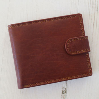 Handmade Rfid Leather Wallet