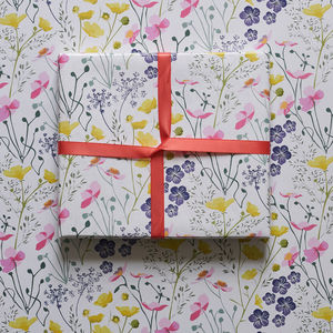 Floral Meadow Wrapping Paper