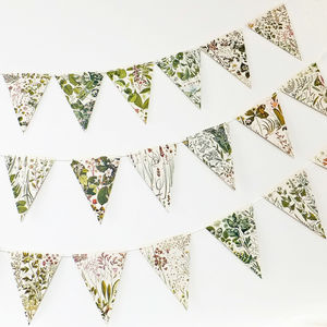 Botanical Bunting - bunting & garlands
