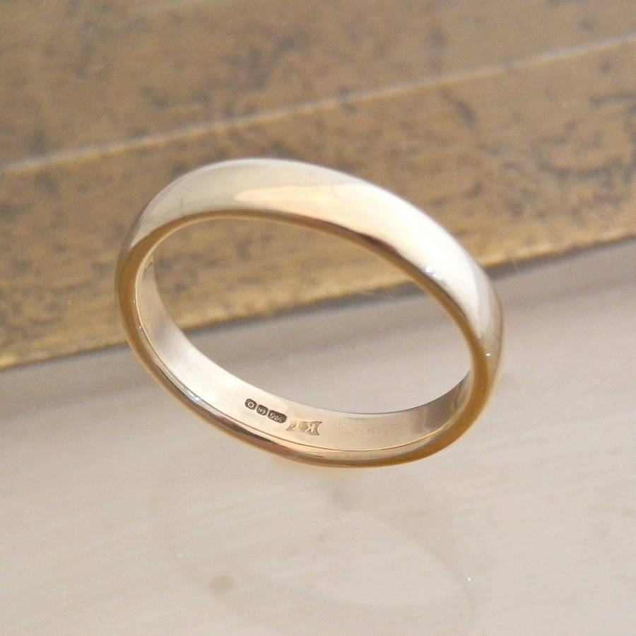 9ct Yellow Gold Mens Ring