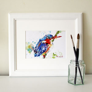 Kingfisher Print, The Fisherman - prints & art sale