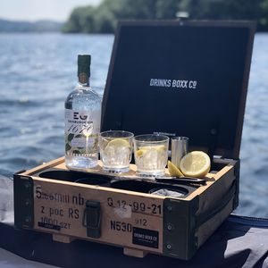 Handcrafted Gin Or Vodka Drinks Box - vodka