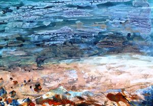 Seascape No Eight - canvas prints & art