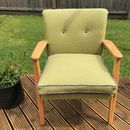 Parker Knoll Midcentury Chair In Bute And Kirkby Wools