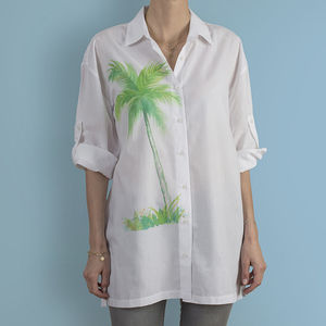 Always Have Your Summer Mood On Blouse - women's fashion