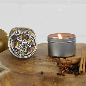 'Mulled Wine' Christmas Tea Infused Candle - what's new