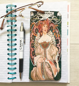 Art Nouveau Champenois Glasses Case - glasses cases