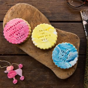 The Personalised Biscuit Gift Box - cakes & sweet treats