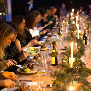 Cinema Supper Club With Wine For Two