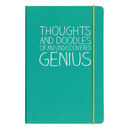 Doodle Notebook For A Genius
