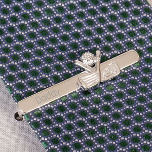 Personalised Golf Enthusiast Tie Clip - men's accessories