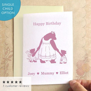 Birthday Bears In Dungarees Birthday Card - birthday cards