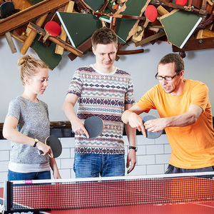 Private Table Tennis Masterclass For Two - dance music & sport