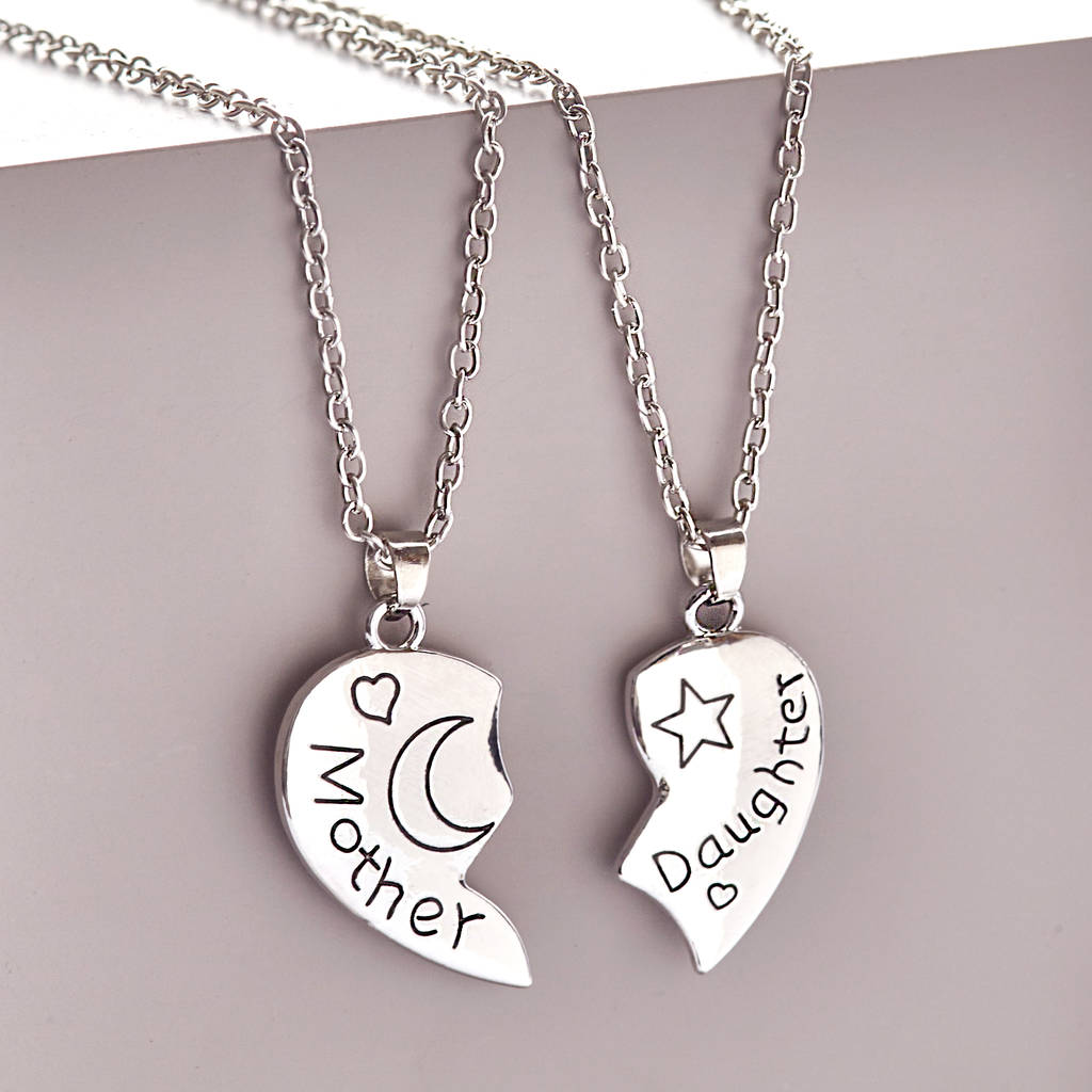 Mother daughter necklaces necklace wallpaper gallerychitrak mother daughter necklaces aloadofball Images